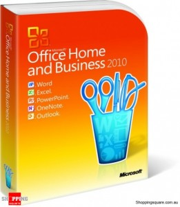 Microsoft Office Home and Business 2010 DVD 32/64 bits