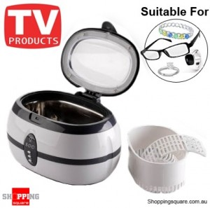 Ultrasonic Cleaner - suitable for jewellery, glasses