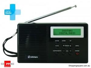 Shintaro Portable Digital Radio with LCD Screen