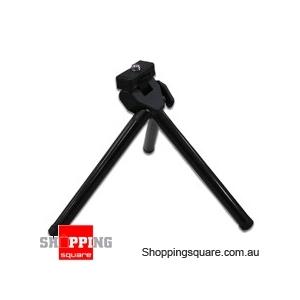 Mini Tripod - Black for Digital Camera and Camcorders