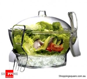 Salad Bowl On Ice - Keep Your Salads Crisp & Fresh