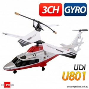 3Ch RC Dolphin Helicopter with Gyroscope - U801