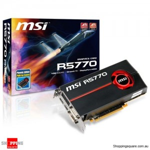 MSI ATI Radeon HD 5770 1GB Video Card