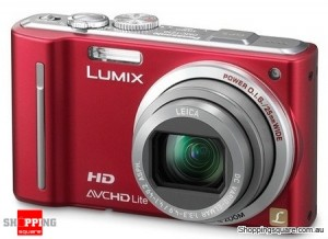 Panasonic Lumix DMC-TZ10 / ZS7 Red Digital Camera