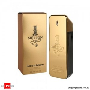 1 Million 100ml EDT SP Men Perfume By PACO RABANNE
