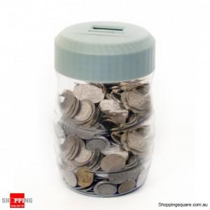 Save Big Money - Digital Dollars Counting jar