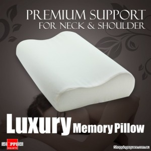 Luxury Premium Memory Pillow Comfortable Foam -  As Seen on TV