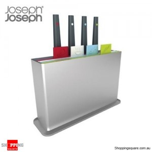 Joseph Joseph Index Plus Chopping Board & Knife Set