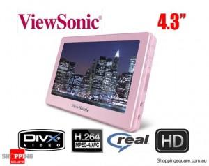 """ViewSonic VPD400 4.3"""" Portable Media Player 8GB"""