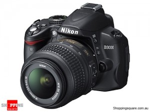 Nikon D3000 Kit 18-55 VR Digital SLR Camera