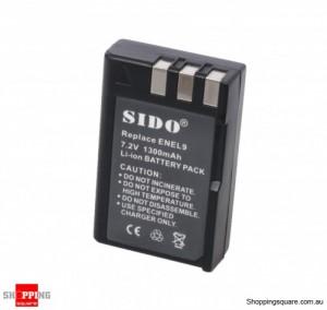 SIDO Nikon D3000 / D5000 Compatible EN-EL9 Li-on Battery