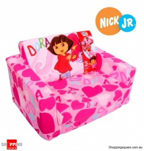 Dora the Explorer flip-out sofa bed
