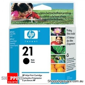 HP 21 Black Inkjet Print Cartridge