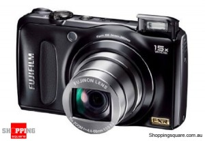 Fujifilm FinePix F300EXR Black Digital Camera