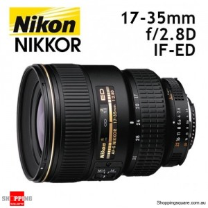 Nikon AF-S Zoom-Nikkor 17-35mm f/2.8D IF-ED Lens