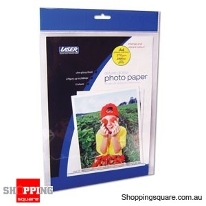 Laser Deluexe Heavy Photo Paper, 270 gsm