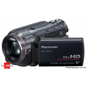 Panasonic HDC-HS700 Video Camera Black