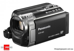 Panasonic SDR-H85 Video Camera Black