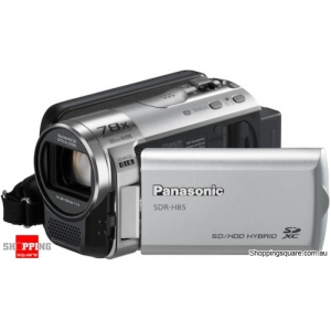Panasonic SDR-H85 Video Camera Silver