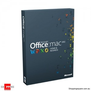 Microsoft Office Home & Business 2011 for MAC W6F-00063