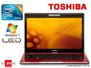 "Toshiba T130 Core 2 Duo SU7300 13.3"" LED Notebook PC"
