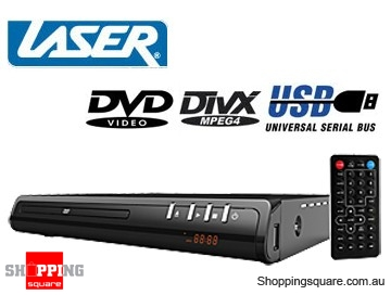 Laser DVD player with built-in Media Player