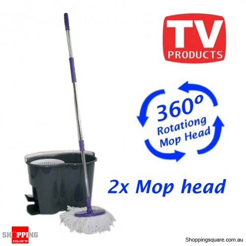 360 degree Spinning Mop - make mopping go easy