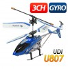 3Ch RC Metal Frame Gyro Helicopter - U807