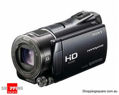 Sony HDR-CX550 Black Camcorder