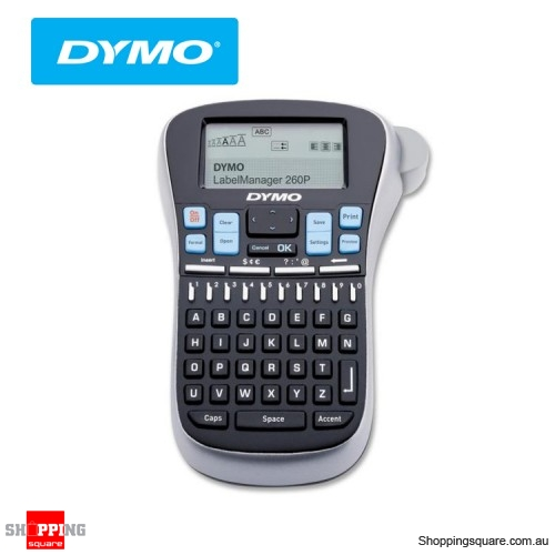 DYMO LABELMANAGER 260P (LM260P) Rechargeable Battery Operation -  Shoppingsquare Australia