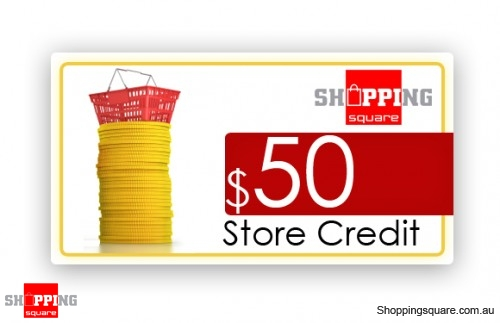 $50 Shopping Square Store Credit - 50,000 Square Points