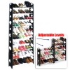 30 Pairs 10 Tier Level Shoe Rack Storage Shelf