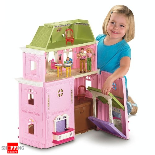 fisher price loving family grand dollhouse mega set online shopping shopping square com. Black Bedroom Furniture Sets. Home Design Ideas