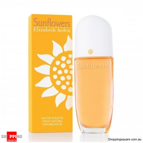 Sunflowers 100ml EDT by Elizabeth Arden