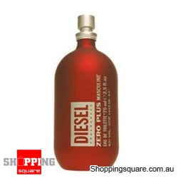 Diesel Zero Plus by Diesel 75ml EDT for Men Perfume Fragrance