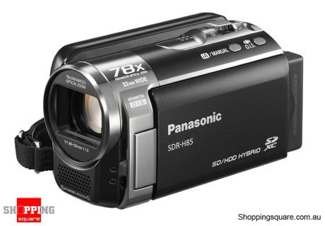 Panasonic SDR-H85 Video Camera Black