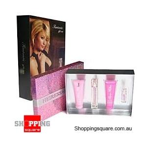 Heiress by Paris Hilton 4Pcs Gift Set