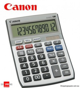 Canon LS121TS 12 Digit Dual Power Tax Function