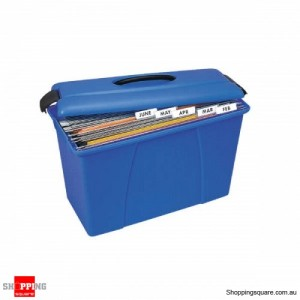 CRYSTAL File Carry Case Blue