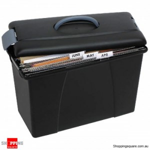 CRYSTAL File Carry Case Black