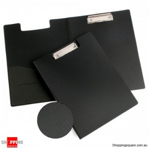 Marbig Clipfolder FSC PVC Black