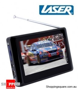 Laser DVBT-MT43 Portable Pocket Digital TV 4.3 Inch Touch Screen,Recording, Multimedia playback