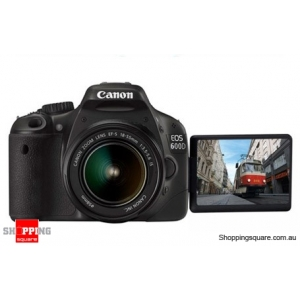 Canon EOS 600D Kit (18-55mm Lens) Digital SLR Camera