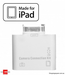 Apple Ipad, iPad2 2in1 SD Card & USB Camera Media Connection Kit