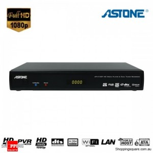 Astone AP410DT 1080p Media Player with PVR & Dual HDTV