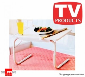 Bed Valet Deluxe - Portable table can be used to eat, read, and write on bed