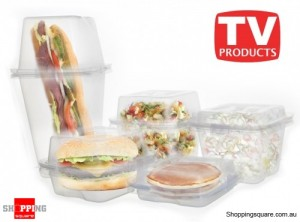 Mix N Match Containers - The Interchangeable Mix And Match Container Storage Set
