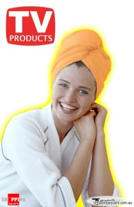 Easy Hair Wrap - Microfibre Towel Hair Drying Wrap Cap