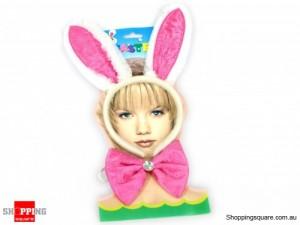 Easter Bunny Ears & Bowtie Set