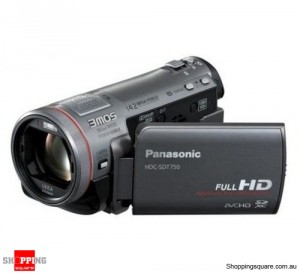 Panasonic HDC-TMT750 Black Digital Camcorder